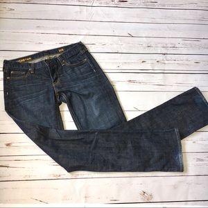 J. Crew Indigo Matchstick Jeans